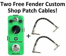 New Mooer Repeater Digital Delay Micro Guitar Effects Pedal!