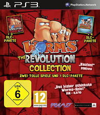 Sony Playstation 3 PS3 Spiel Worms: The Revolution Collection
