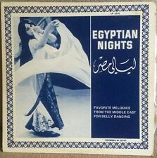 Egyptian Nights favorite Middle East Melodies for Belly Dancing  1234 LP private