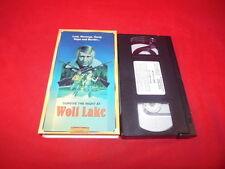 1A VHS WOLF LAKE Lust Revenge Gang Rape Murder Exploitation Movie Rod Steiger!