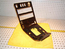Mercedes Late W140 Front center Console 1 Piece BURL Wood OEM 1 Cover & Ashtray