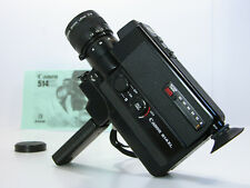 CANON Super 8 MOVIE CAMERA W/Batteries & Instructions Works Well