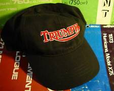 Triumph Motorcycle, Embroidered, Adjustable, Baseball Hat, 100% Natural Cotton