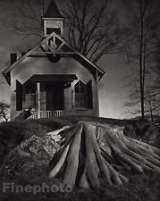 1941/72 Vintage 11x14 ARCHITECTURE ARMONK New York Porch Photo By ANDRE KERTESZ