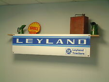 Leyland tractor shed banner