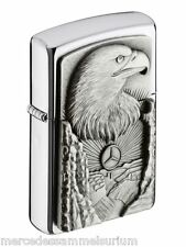 Mercedes Benz Original Zippo Lighter Antiqued silver NIP