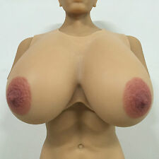 IVITA 9.5KG High-Quality Big Silicone Breast Form Drag Queen Huge Fake Boobs