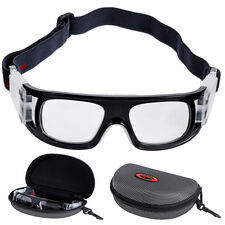 Sports Protective Goggles Glasses Eyewear + Case for Basketball Football Rugby