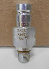 PARKER PD357Y QUICK HYDRAULIC COUPLING NIPPLE FITTING