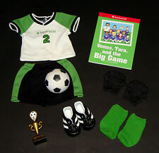 American Girl Doll JLY Soccer Star Outfit Complete Set Book Retired Original Box