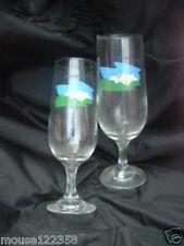 Pair Wine Glasses Suntory Musachino Brewery