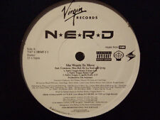 "N*E*R*D, COMMON, MOS DEF, DE LA SOUL - SHE WANTS TO MOVE (REMIX) (12"")  2004!! ♫"