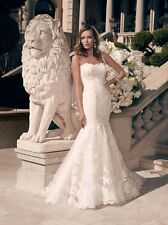 Wedding Dress Casablanca Bridal 2163  Ivory/Ivory Size 18 NEW un-altered
