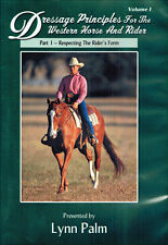 Dressage Principles Volume 1 Part1 DVD with Lynn Palm BRAND NEW DVD