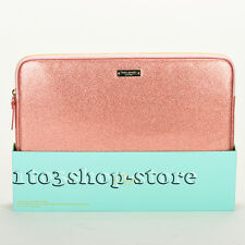 "Kate Spade Glitter Glam Sleeve Pouch for 13"" MacBook Pro/Air Retina (Rose Gold)"