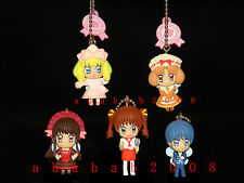 Yumeiro Patissiere figure keychain gashapon Takara Tomy (full set of 5 figures)
