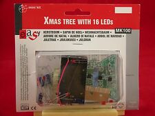 VELLEMAN Electronic Christmas Tree Kit 16 Blinking LEDs Unassembled