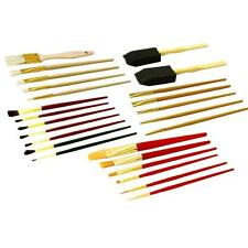 Paint Brushes Pro Set Artist Assorted Painting Brush Artists Art Craft 25Pc 6096