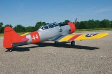 "wwII1/4 Scale AT6 TEXAN 101"" Giant Scale RC AIrplane Printed Plans"