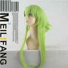 Vocaloid Gumi Long Blond/Green Cosplay Party Wig 50cm Free Shipping+Wig Cap 370