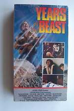 Years of the Beast VHS Tape 1981 New Sealed, Never Played