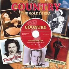 COUNTRY The Golden Era   Book + Factory Sealed DVD - BRAND NEW HARDCOVER