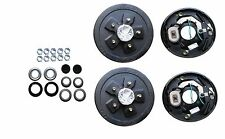 Add Brakes to Your Trailer Basic Kit 3500 axle 5 x 5.5 Bolt Electric Drum