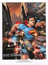 Rags Morales SIGNED Action Comics #1 DC New 52 SDCC Exc Art Print  ~ Superman