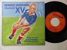 GERARD VERCHERE Chante le XV  Rugby PL 13010 Pochette différente