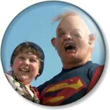 Goonies Chunk and Sloth 25mm Pin Button Badge Cult Movie Retro Truffle Shuffle
