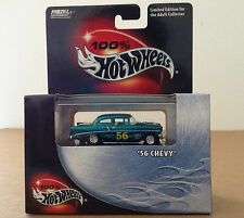 100% Hot Wheels Metal Collection 1956 Chevy car 1:64 diecast Limited Edition