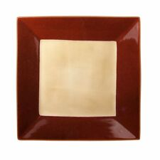 Gourmet Basics by Mikasa Camden Red Square Dinner Plate