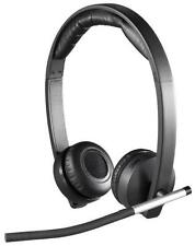 N Logitech H820e Dual Double-Ear Stereo Wireless Business Headset