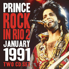 PRINCE New 2017 UNRELEASED ROCK IN RIO BRAZIL 1991 LIVE CONCERT 2 CD SET