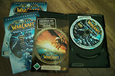 pc game dvd-rom world of warcraft wrath of the lich king  2008 deutch