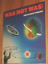 VINYL LP Was Not Was - Born To Laugh At Tornadoes promo Ozzy Osbourne