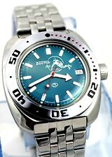 RUSSIAN VOSTOK DIVER AMFIBIAN Men's Automatic WATCH #710059 NEW