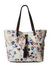 Jessica Simpson Rodica Shoulder Tote Bag - Summer Floral/Black