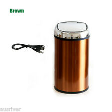 6/8/12L Automatic Motion Sensor Touchless Trash Can Rubbish Bin Stainless Steel