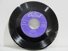 """45 RECORD 7"""" WHITING AND WAKELY- SILVER BELLS"""