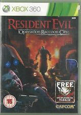 Xbox 360 Resident Evil Operation Raccoon City
