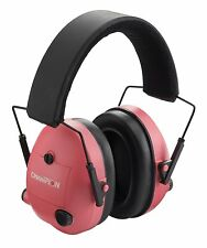 Champion Pink Adjustable Protective Electronic Ear Muffs 25 NRR - 40975