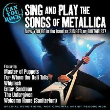 Can You Rock? Sing & Play the Songs of Metallica by Stardust Sisters CD Sealed