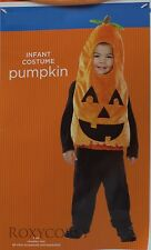 Halloween Infant Toddler Orange Pumpkin Vest Costume Size 12-24 months NWT