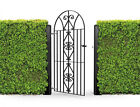 Wrought Iron Style Metal Gate Windsor Bow Top 1890mm x 815mm Garden Gates