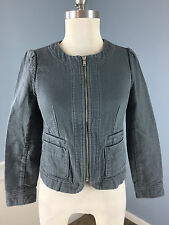 ann Taylor LOFT Gray jacket blazer 0 P XS Casual Career *