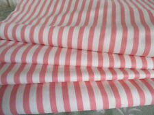 Vintage French Striped Fabric Upholstery Curtains 5.7 metre x150cm New old stock