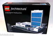 LEGO® Architecture United Nations Headquarters 21018 New