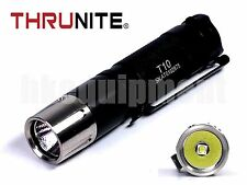 Thrunite T10 Cree XP-L V6 LED Neutral White NW LED Flashlight Black
