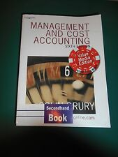 Management and Cost Accounting: Value Media Edition by Colin Drury...